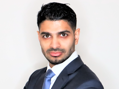Head shot of Mr Patel ophthalmology consultant